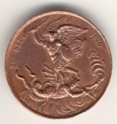 de Chambord, medaille de naissance, revers