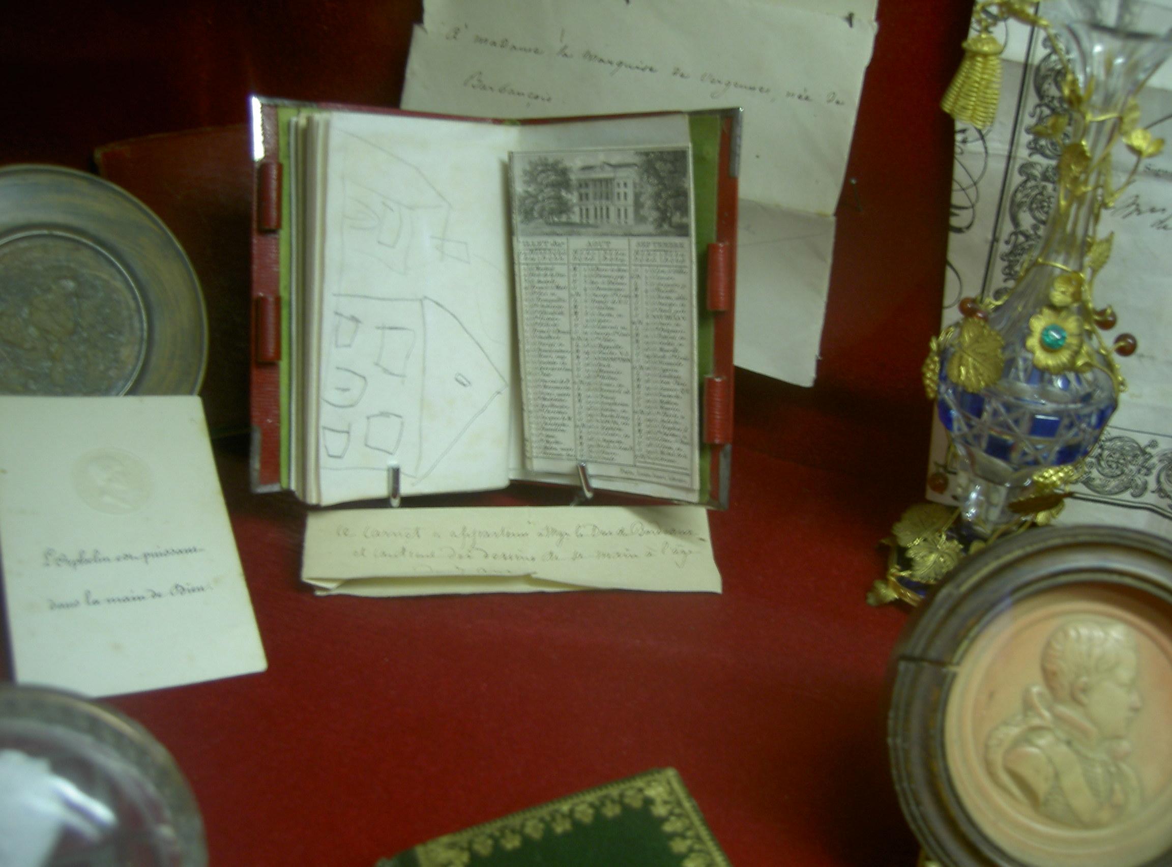 Carnet du comte de Chambord