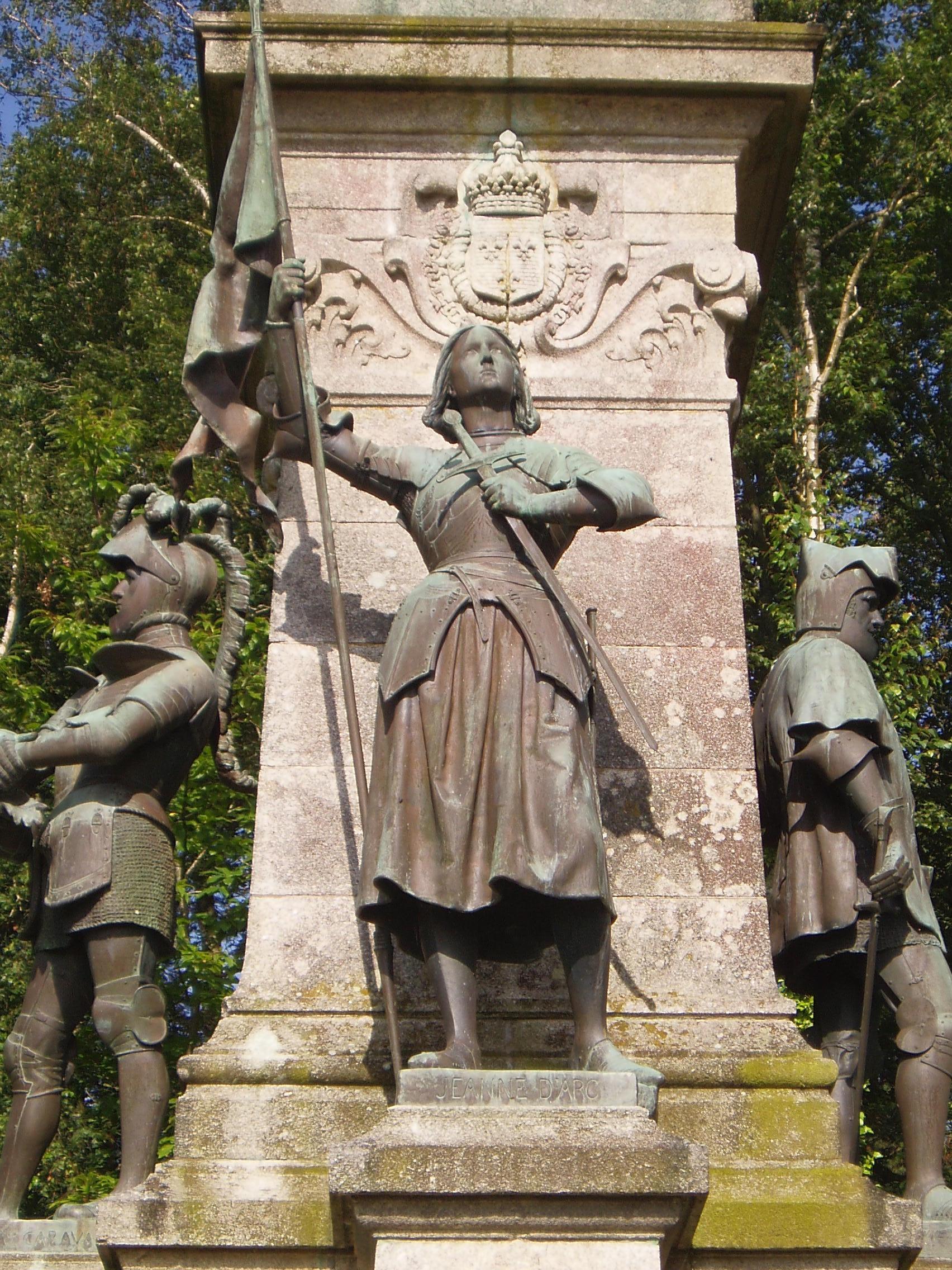 Mémorial du comte de Chambord : Jeanne d'arc
