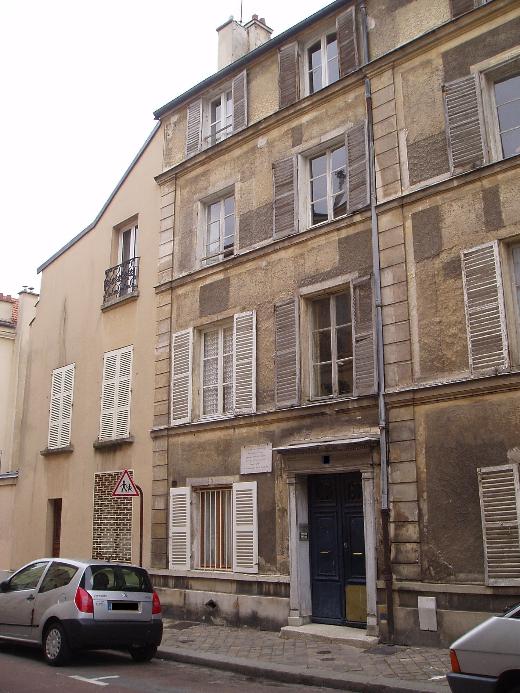 Maison où le comte de Chambord fut logé